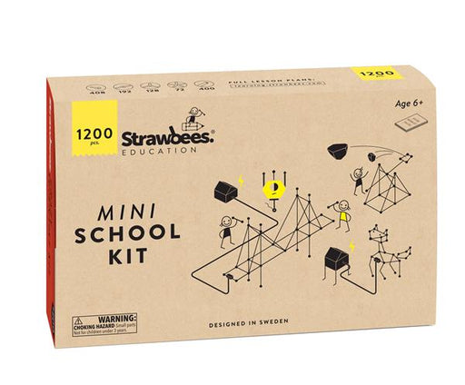Strawbees Mini School kit (1200 deler)