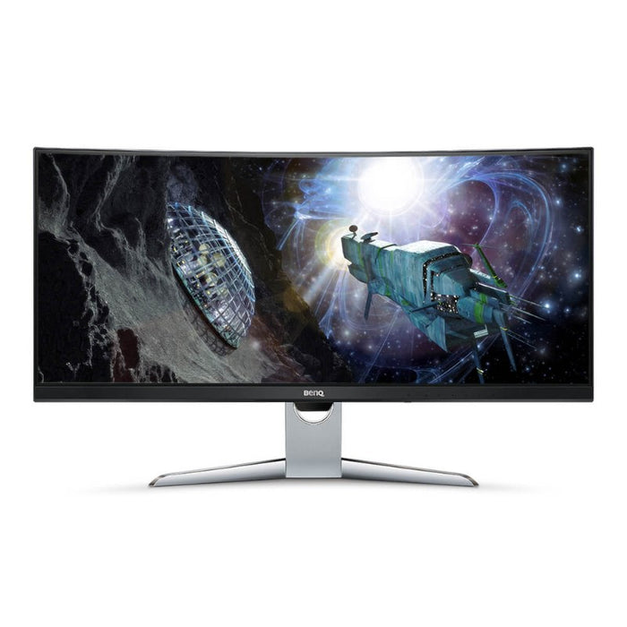 "BenQ 35"" EX3501R 100hz Curved Monitor with HDR, USB-C, and eye-care™️"