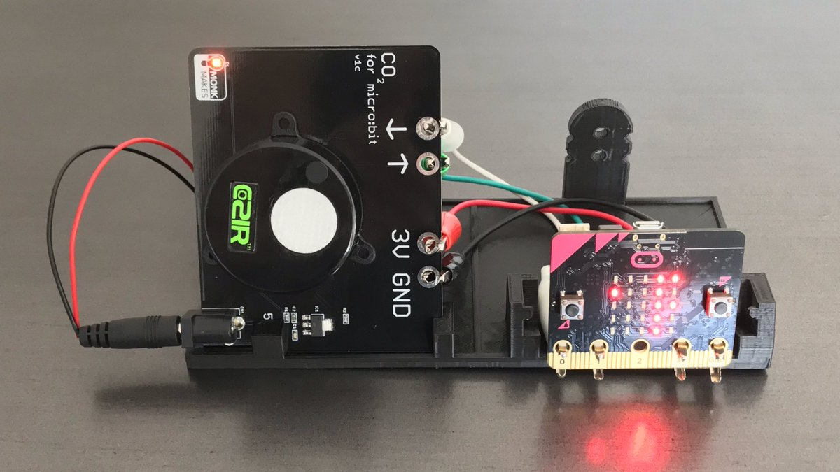 Monk Makes CO2 Sensor for micro:bit