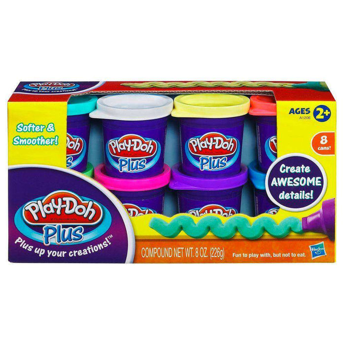Play-doh Plus Variety Pack (8 bokser)