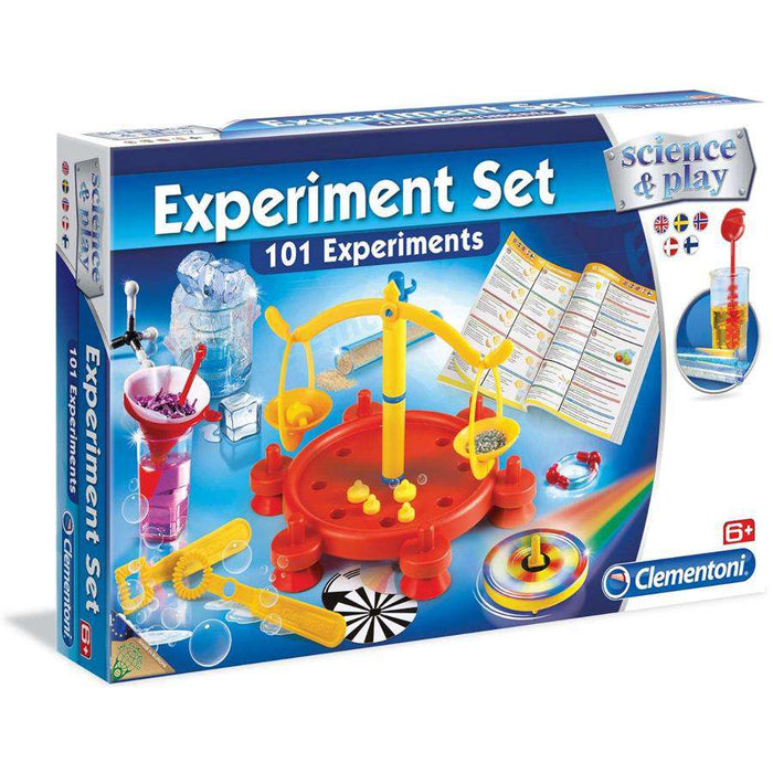 Clementoni Experiment Set - 101 eksperimenter