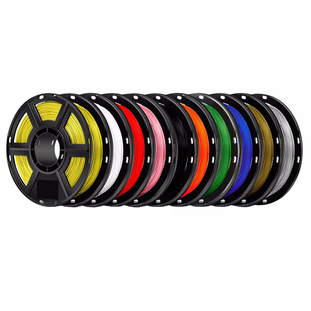 FlashForge PLA Filament 1.75mm - 0.5kg 10 Pack