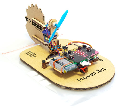 Hover:bit Add-On Kit til Air:bit - Luftputefartøy til micro:bit (uten micro:bit)