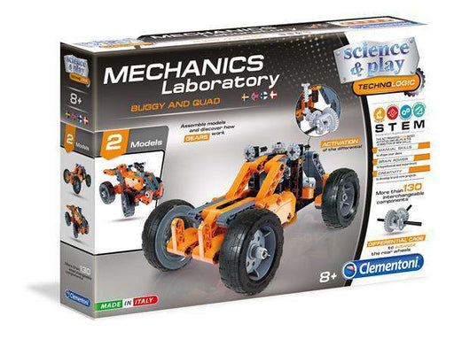 Clementoni Mechanical Lab - BUGGY&QUAD