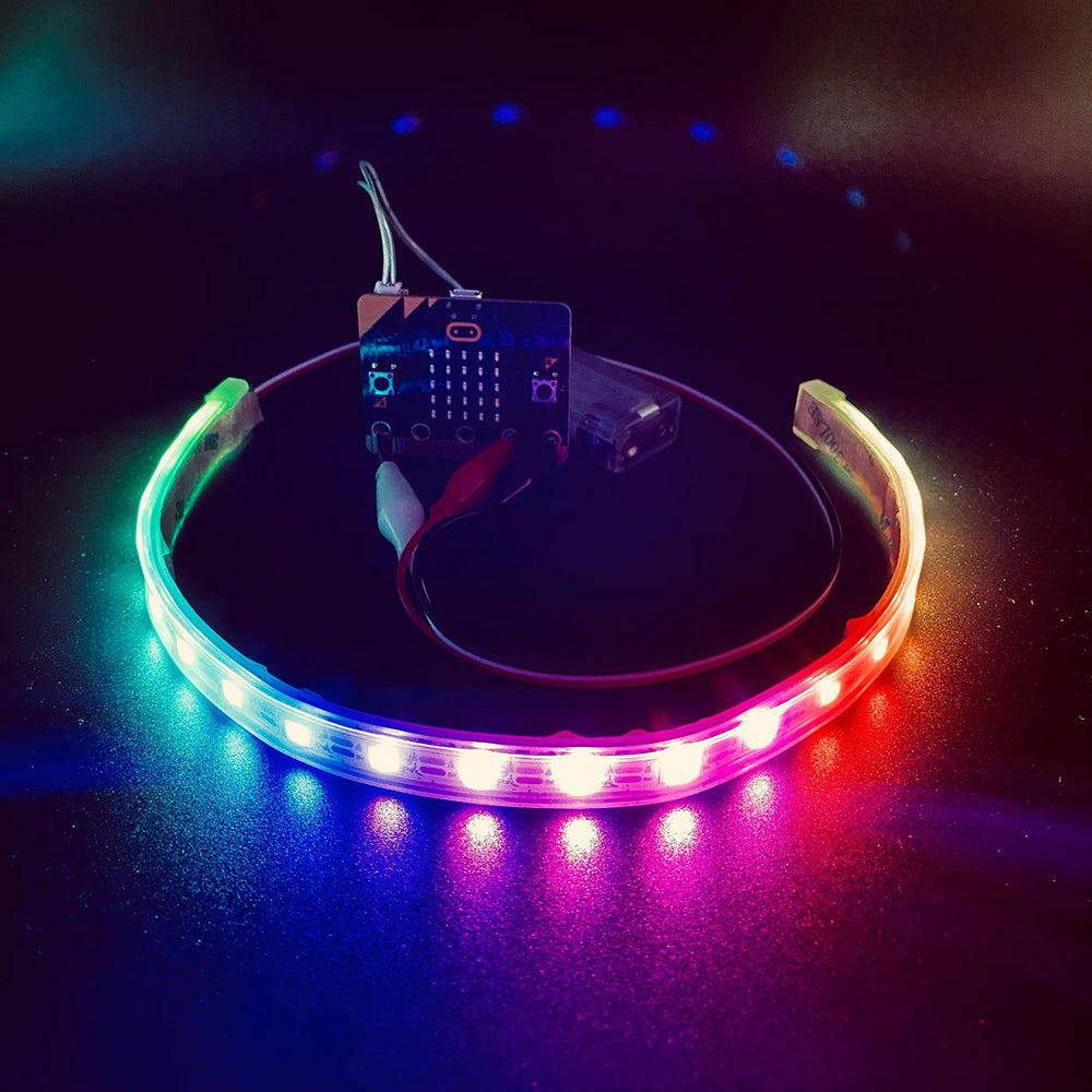 Digital LED Strip, RGB, 20LED, 330MM
