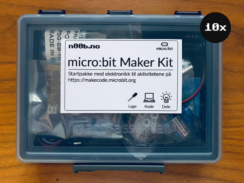 micro:bit Maker Kit Club Bundle (10 stk inkl. micro:bit)