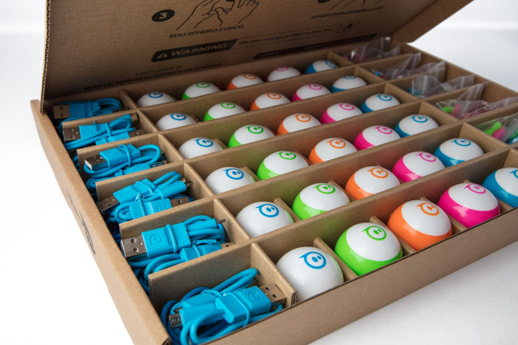 Sphero Mini 30-pack EDU brown box