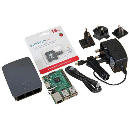 Raspberry Pi 3 Official Starter Kit - Black U:Create
