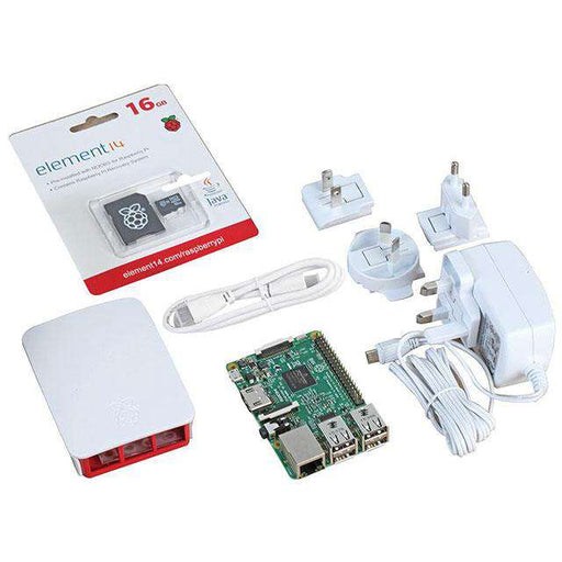 Raspberry Pi 3 Official Starter Kit - White U:Create