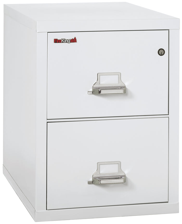 "FireKing 2-2131-C Two Drawer 31"" Deep Vertical Legal Size File Cabinet"
