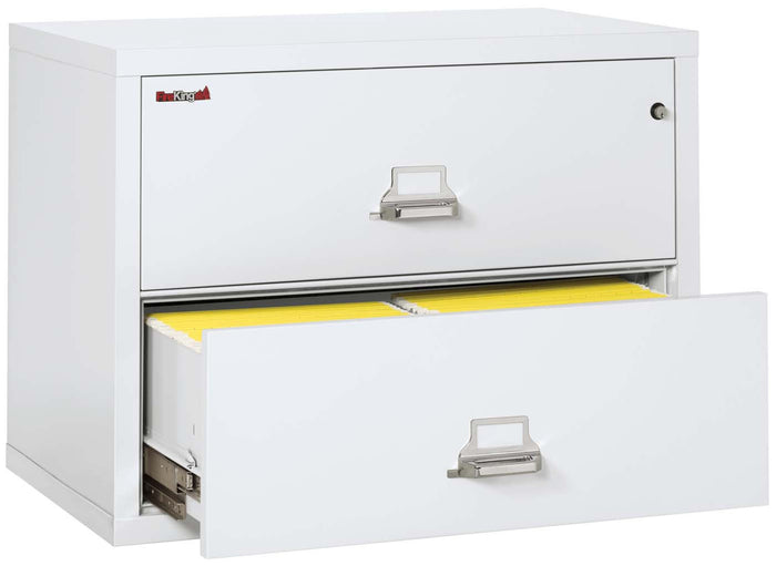 "FireKing 2-3822-C Two Drawer 38"" Lateral Fireproof File Cabinet"