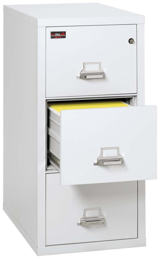 FireKing 3-1943-2 3 Drawer Vertical Letter Size Filing Cabinet