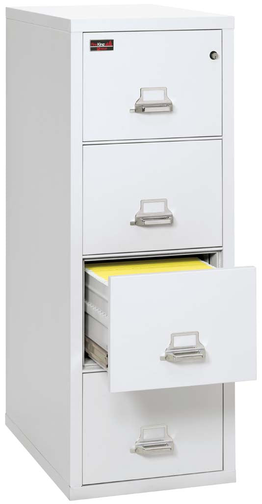 FireKing 4-2157-2 Four Drawer Vertical Legal Size Filing Cabinet