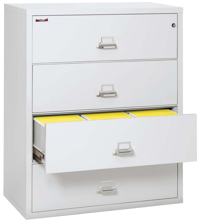 "FireKing 4-4422-C Four Drawer 44"" Wide Lateral File Cabinet"