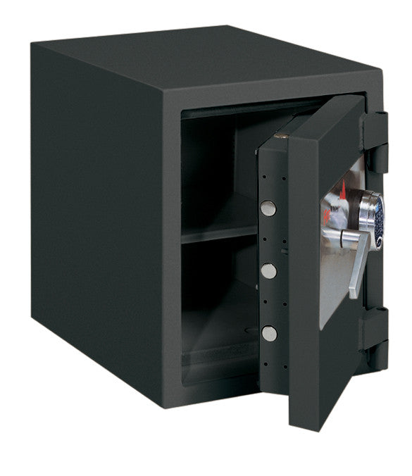 FireKing FB1612-1 1-Hour Fireproof Burglary Rated Safe Black Open
