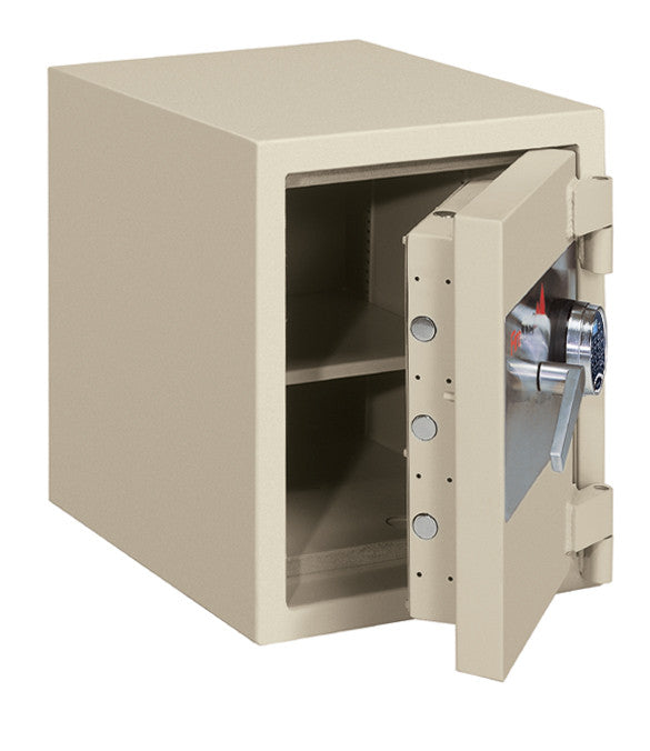 FireKing FB1612-1 1-Hour Fireproof Burglary Rated Safe Parchment Open