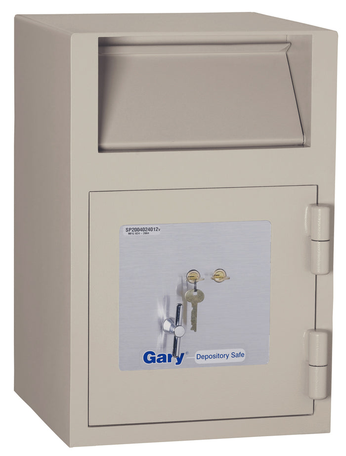 Gary FB2114RK Key Lock Front Loading Deposit Safe