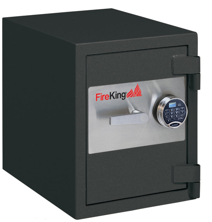 FireKing FB2218-1 1-Hour Fireproof Burglary Rated Safe Graphite