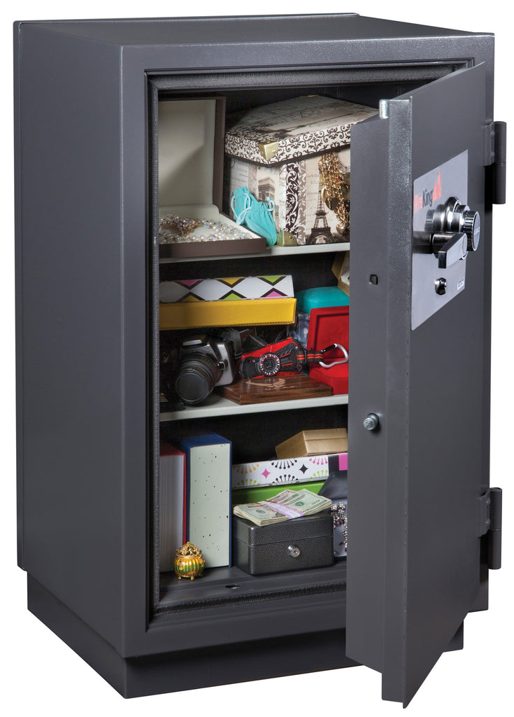 FireKing KR3115-2 Two-Hour Fireproof Burglary Safe Open