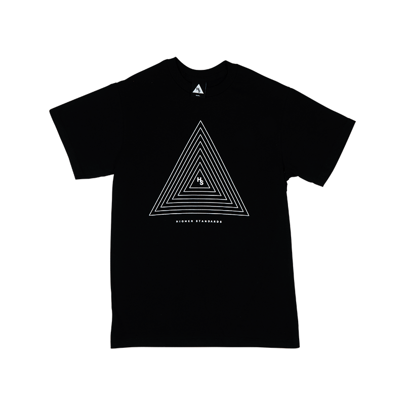 HS CONCENTRIC TRIANGLE TEE
