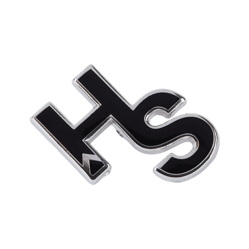 Higher Standards Cutout Logo Pin