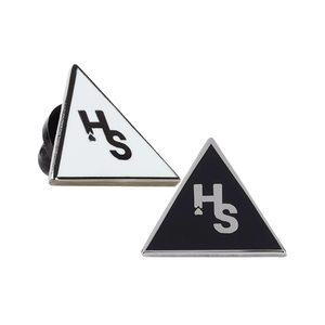Higher Standards Triangle Pin