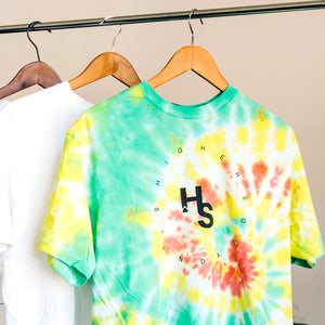 Higher Standards Tie-Dye Tee