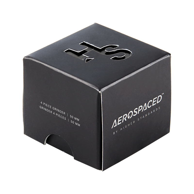 Aerospaced By Higher Standards Grinder - 4 PC 2.0""