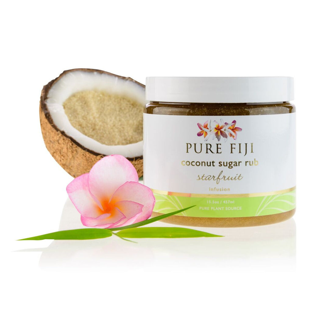 Pure Fiji Coconut Sugar Rub 457ml