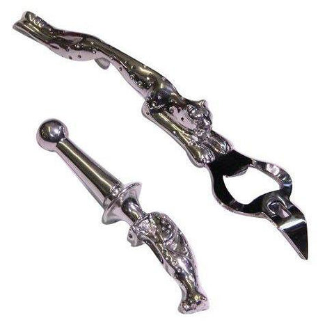 Bottle Opener & Stopper Set - Cheetah Africa Collection - Diana Carmichael - Goodieshub.com