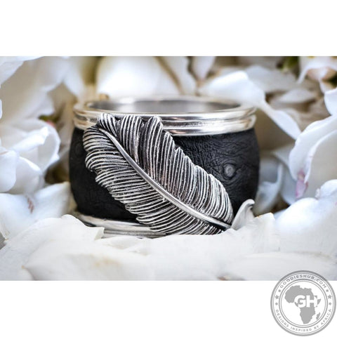 Napkin Ring Ebony (Single) - Usiba Lwe Nyoni Collection - Diana Carmichael - Goodieshub.com