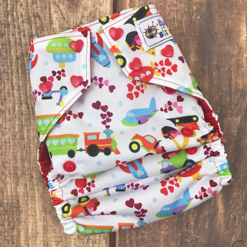 Love on the Move OS Pocket Diaper (with insert)