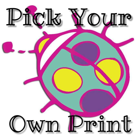 Pick Your Own Print Semi-Custom Cloth Diaper Slot