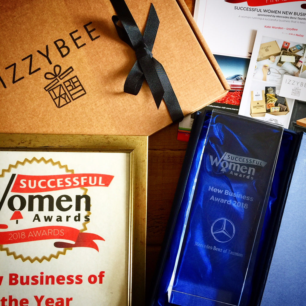 IzzyBee wins New Business of the Year award!