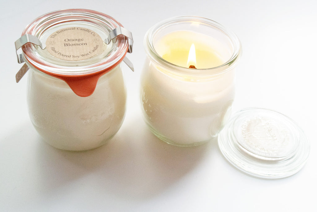 Glass Jar Scented Candle