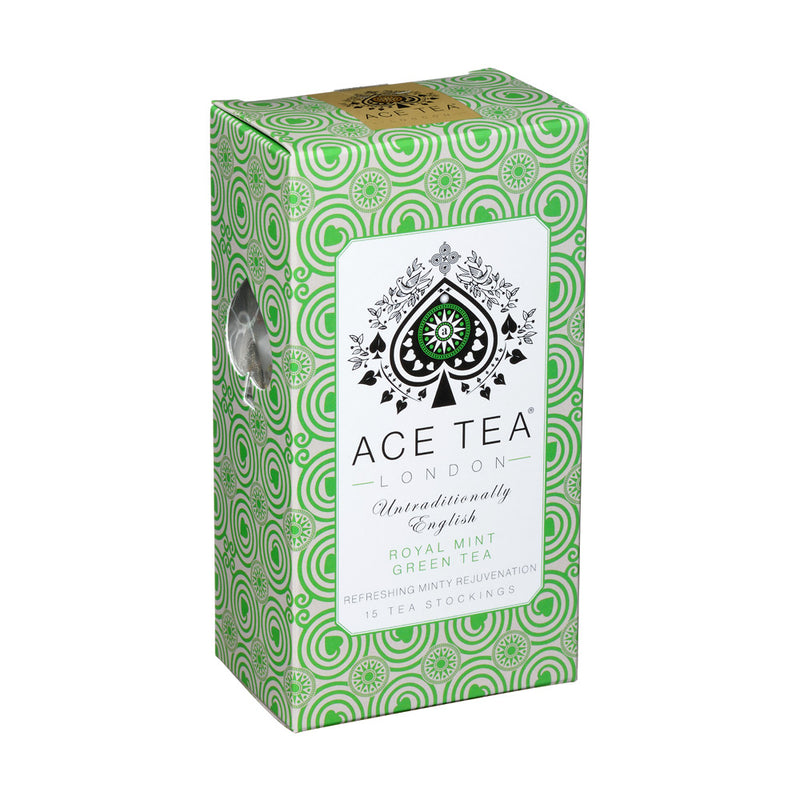 ACE Tea London ROYAL MINT GREEN TEA - 15 x pyramids