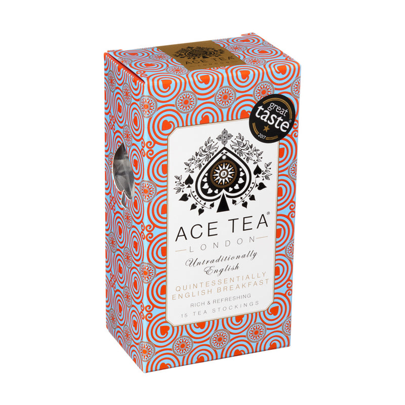 ACE Tea London ENGLISH BREAKFAST - 15 x pyramids