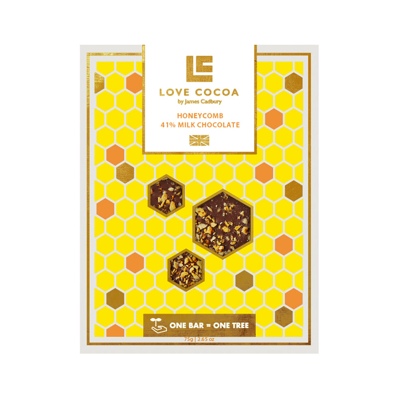 Honeycomb Milk Chocolate