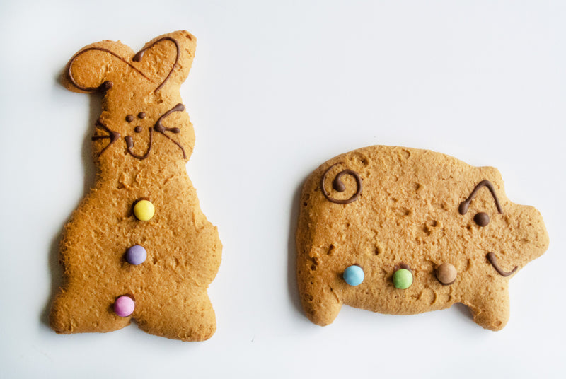 Gingerbread rabbit & pig - Lottie Shaws