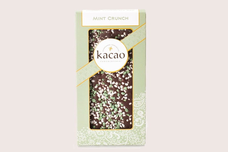 Mint Crunch Chocolate Bar - Kacao