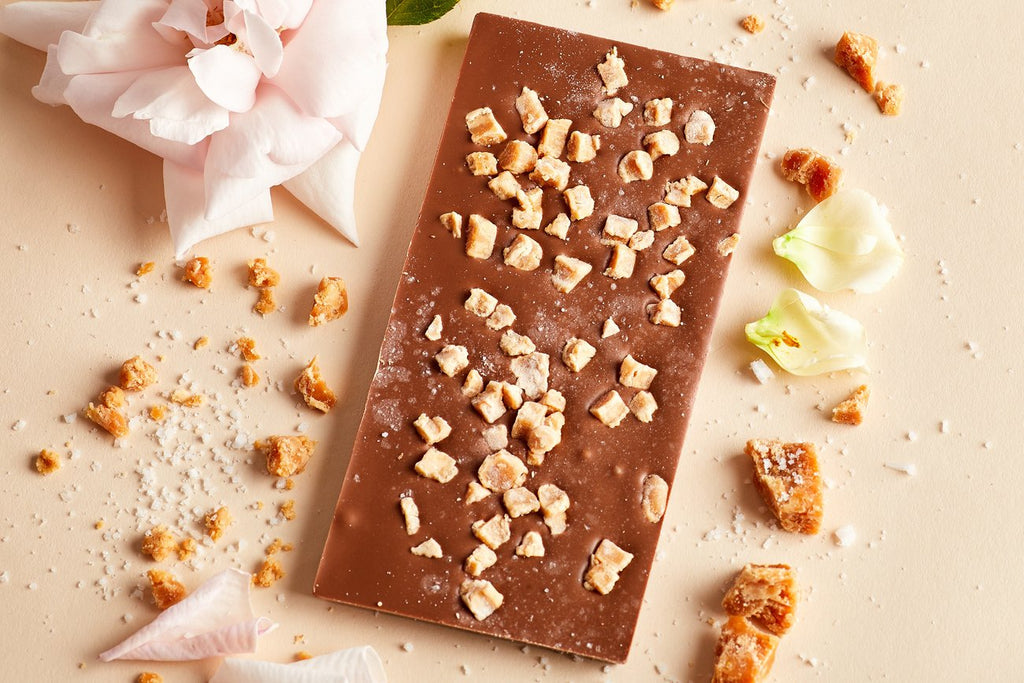 Salted Caramel Chocolate Bar - Kacao