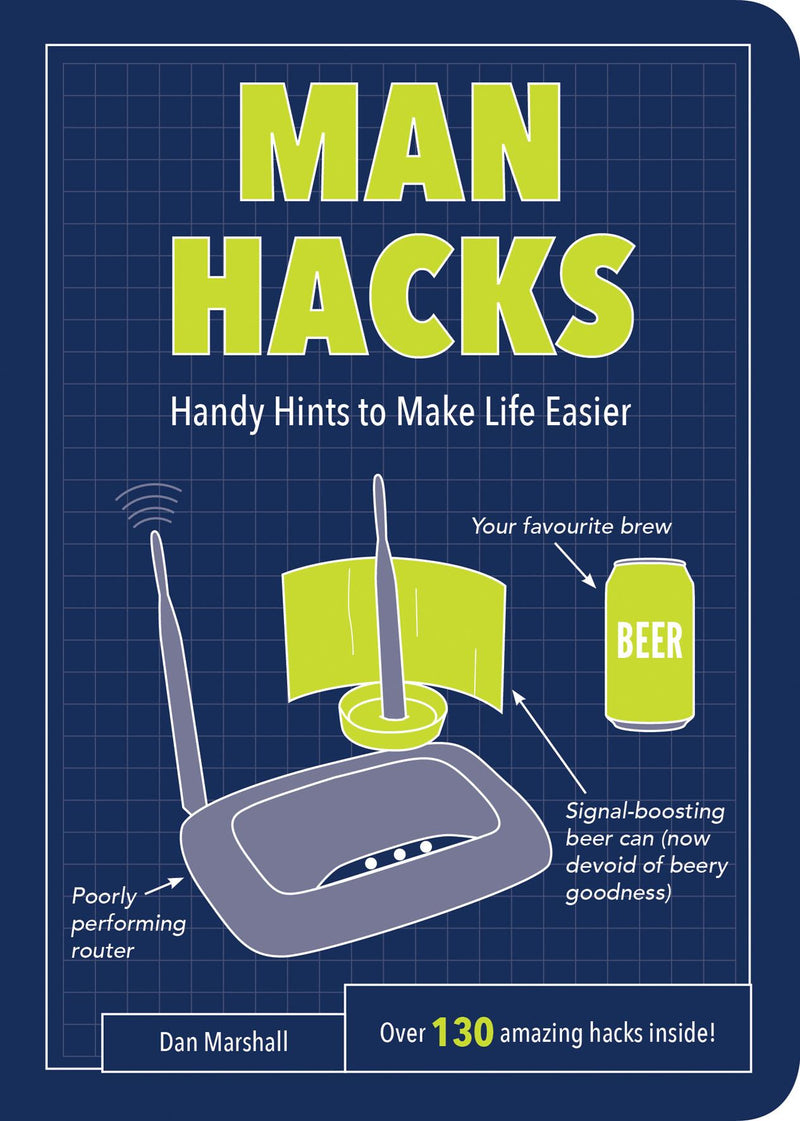 Man Hacks Book
