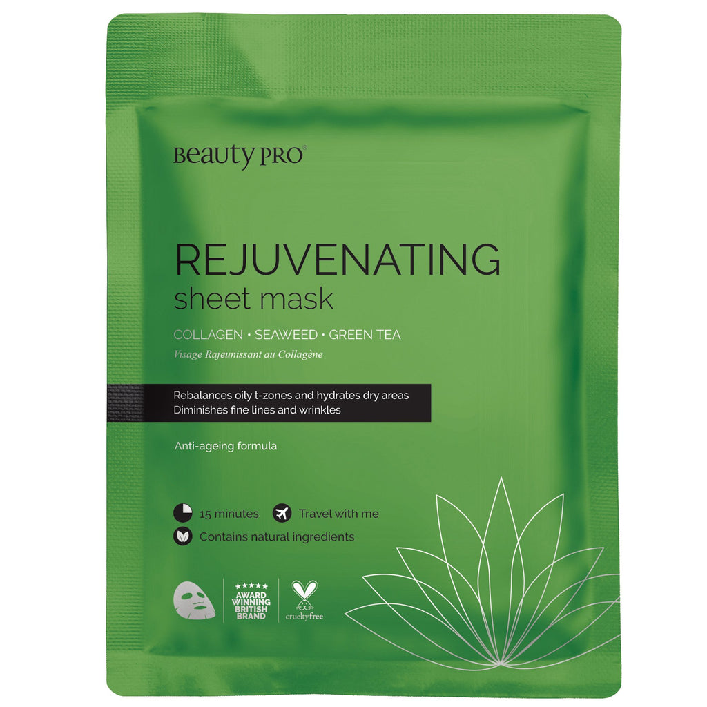 Rejuvenating Collagen Sheet Face Mask