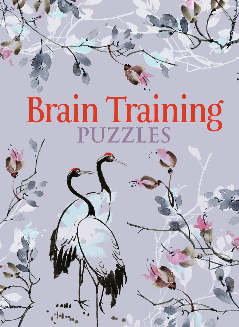 Book -  Brain Training Pretty Pocket Puzzles