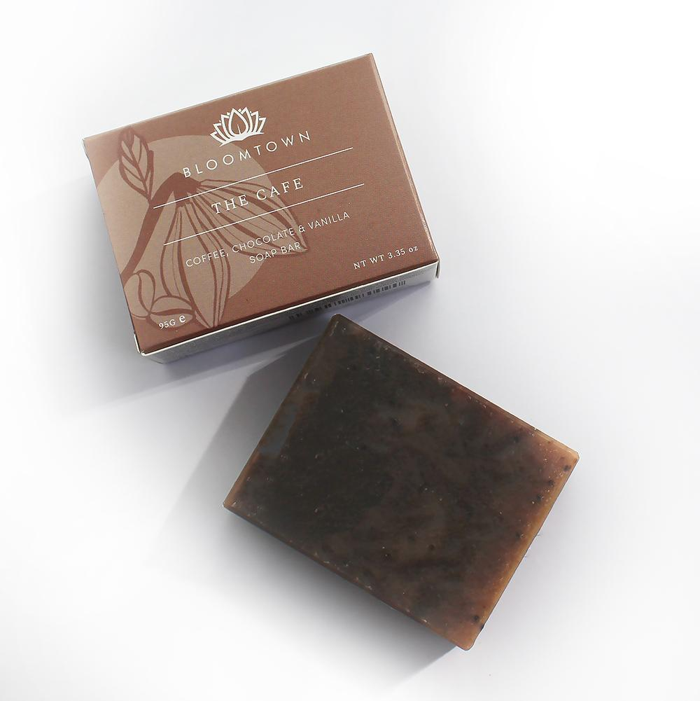 Bloomtown Artisan Soap Bar - Coffee