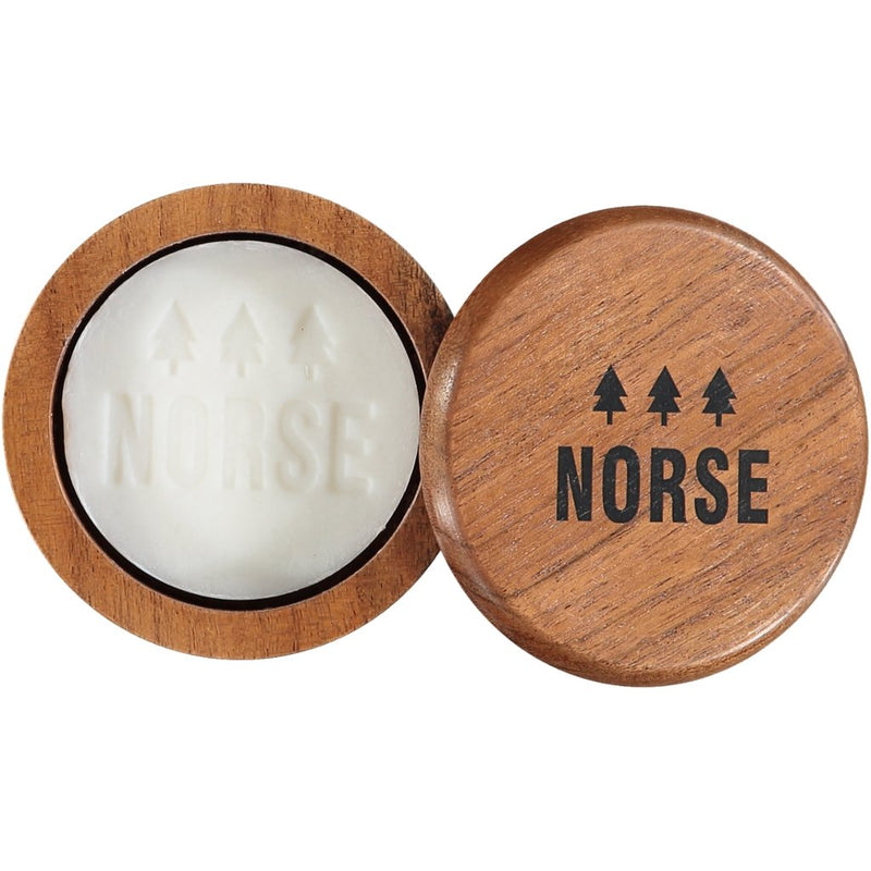 Shaving Soap with Wooden Bowl - Norse