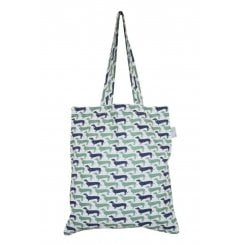 Sausage Dog Cotton Shopper