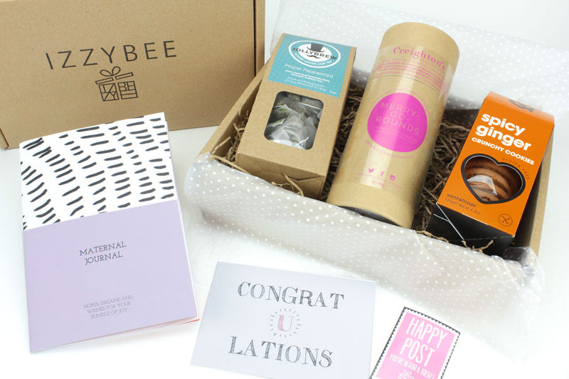 IzzyBee Pregnancy Care Package Gift Box