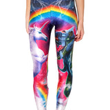 Rainbow Unicorn Etc. Leggings