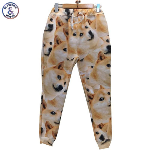 3D Doge sweatpants